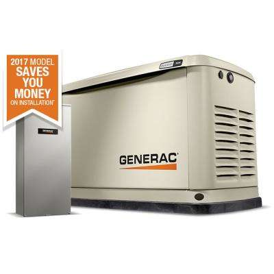 9,000-Watt (LP)/8,000-Watt (NG) Air Cooled Standby Generator with Wi-Fi and 100 Amp NEMA3 Auto Transfer Switch