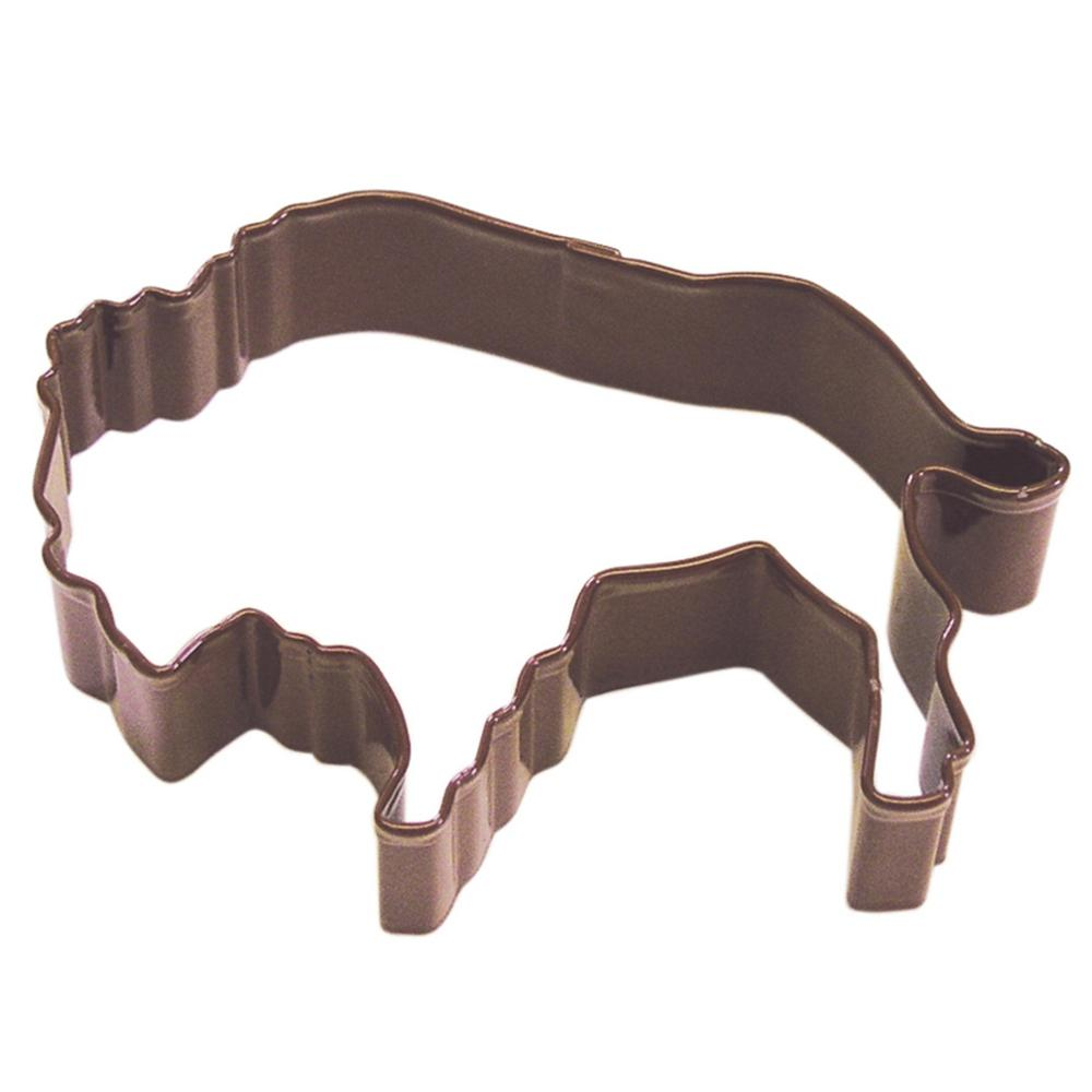 CybrTrayd Triceratops Cookie Cutter Brown