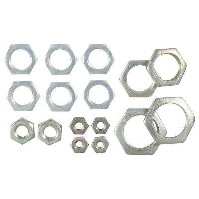 Assorted Hex Nuts (16-Piece)
