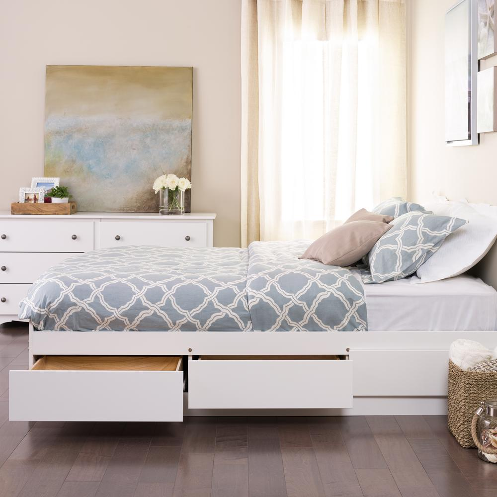 prepac monterey twin wood kids storage bed