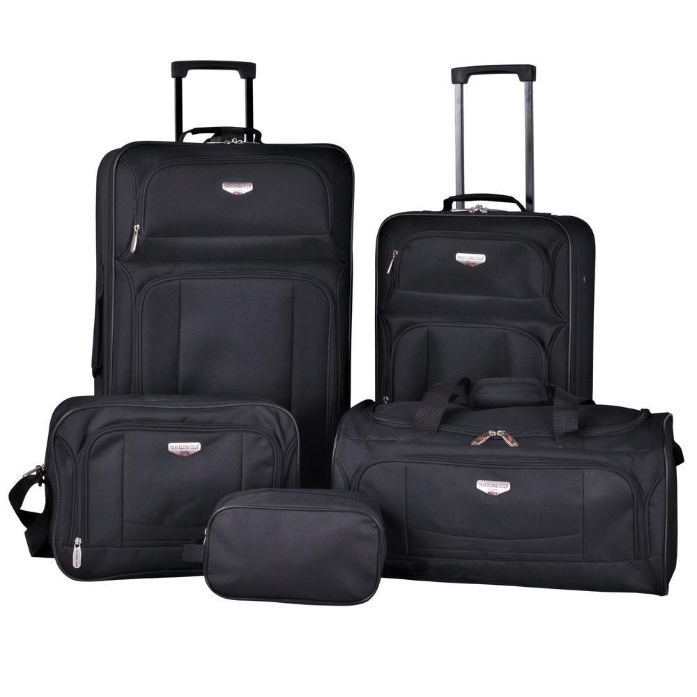5-Piece Softside Value Luggage