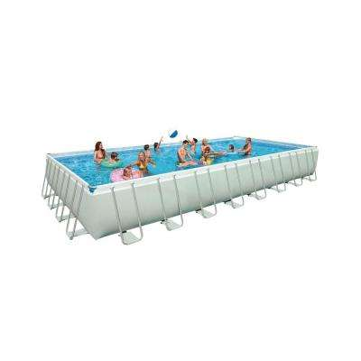 32 ft. x 16 ft. Rectangular x 52 in. Deep Pool Set