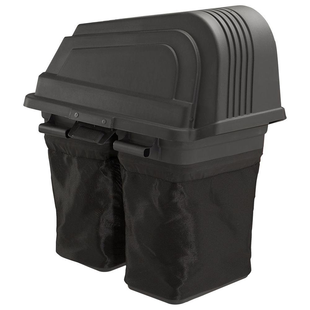 Poulan PRO Universal 38 in. 2-Bin Bagger for Ariens Poulan and Husqvarna Tractors -DISCONTINUED
