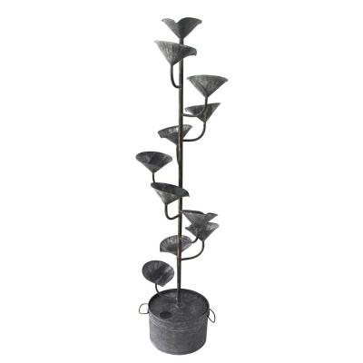 Lily Pad Metal Fountain