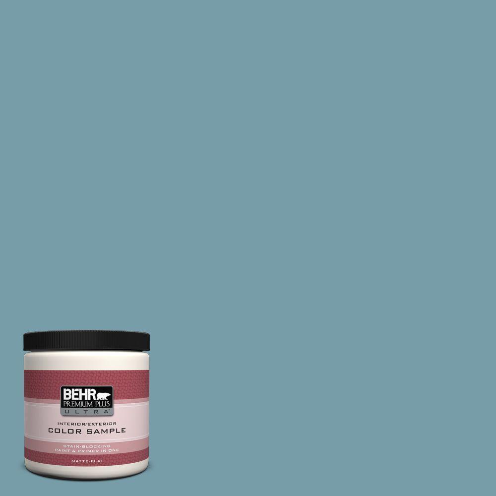BEHR Premium Plus Ultra 8 oz. #PPU13-7 Voyage Interior/Exterior Paint Sample