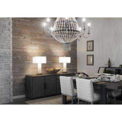 3/8 in. x 5-1/2 in. x 47-1/2 in. Barn Board Gray Planking (2 Boxes per Carton) - 29 Sq. Ft.