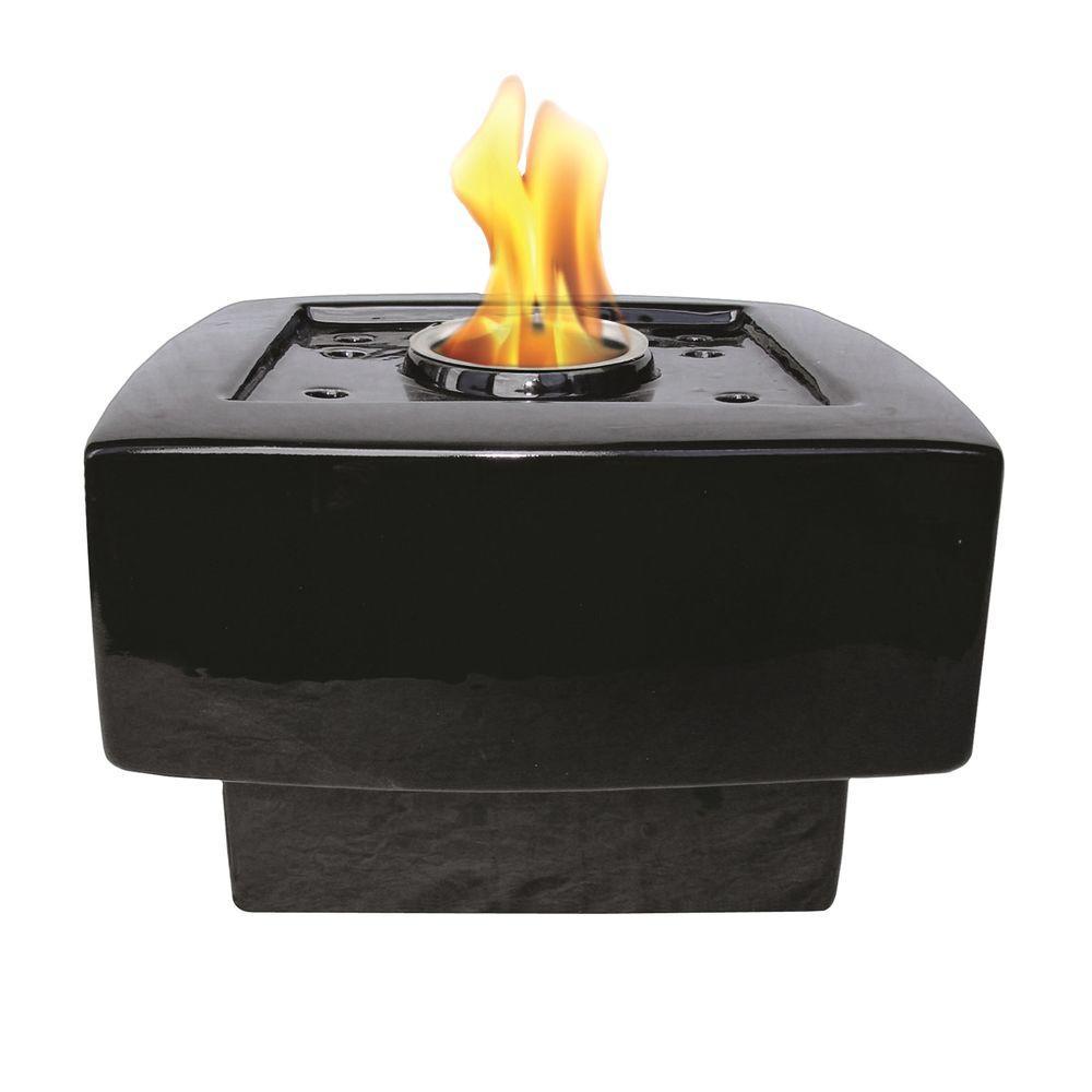 Pacific Decor Baltic Fire Pot in Black-DISCONTINUED