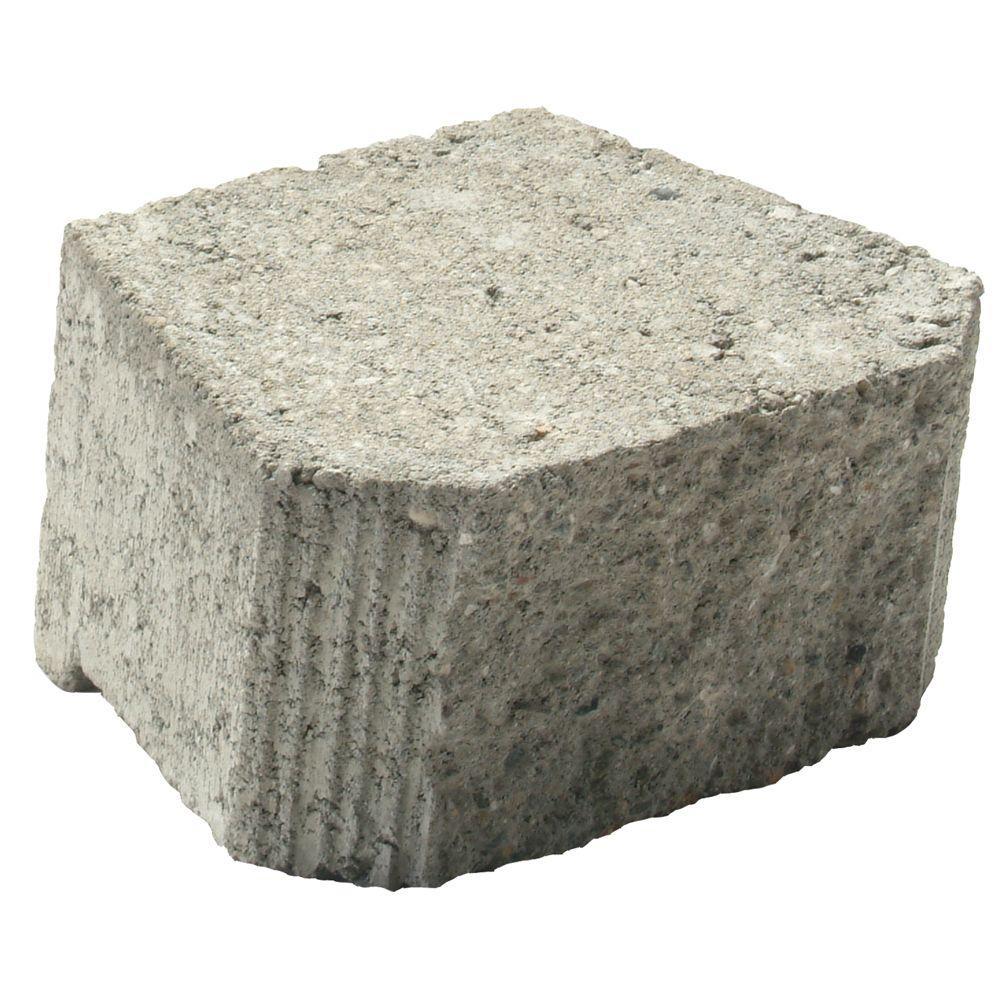 null Borderstone 4 in. x 8 in. Concrete Garden Wall Blocks
