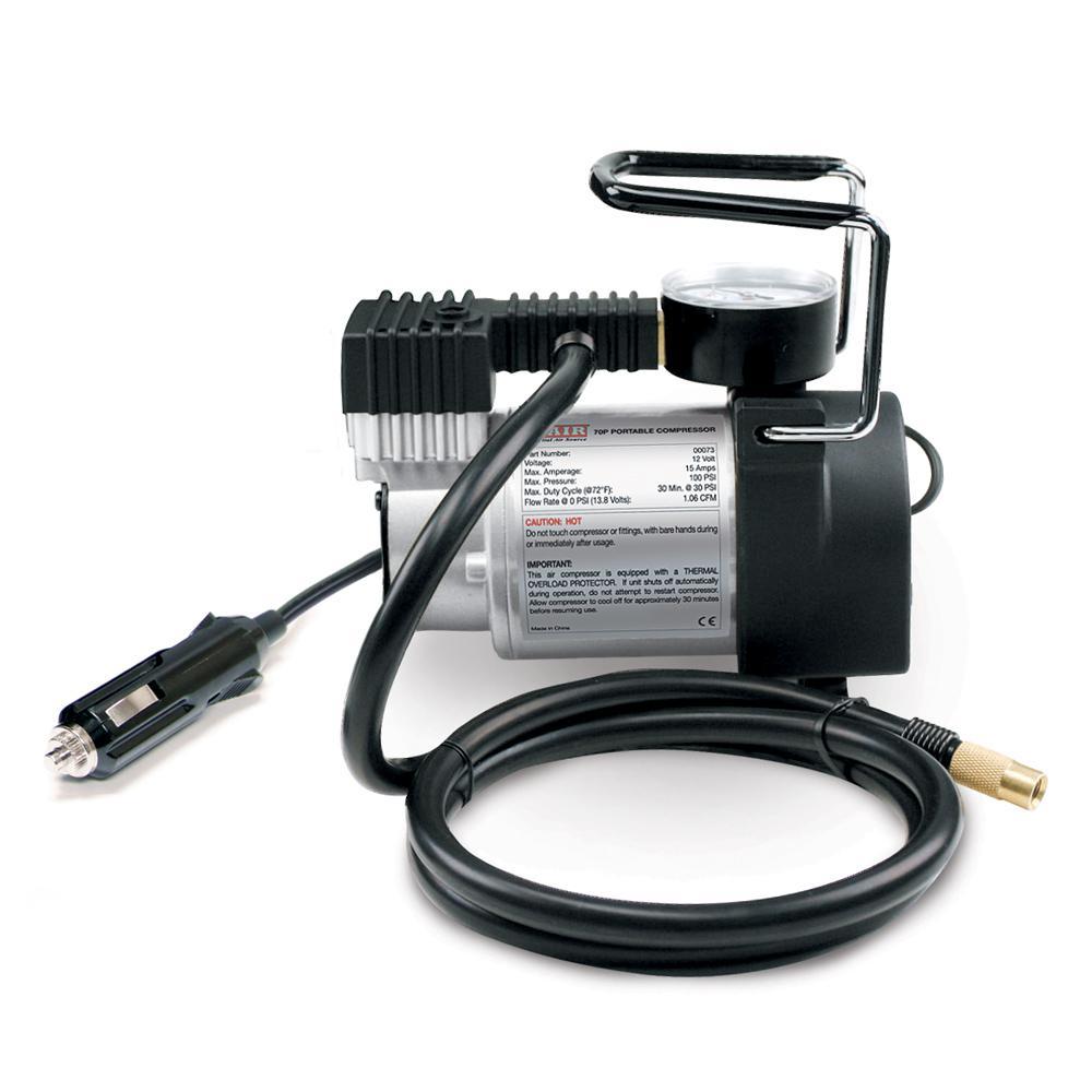 70P 12-Volt 100 psi Portable Air Compressor