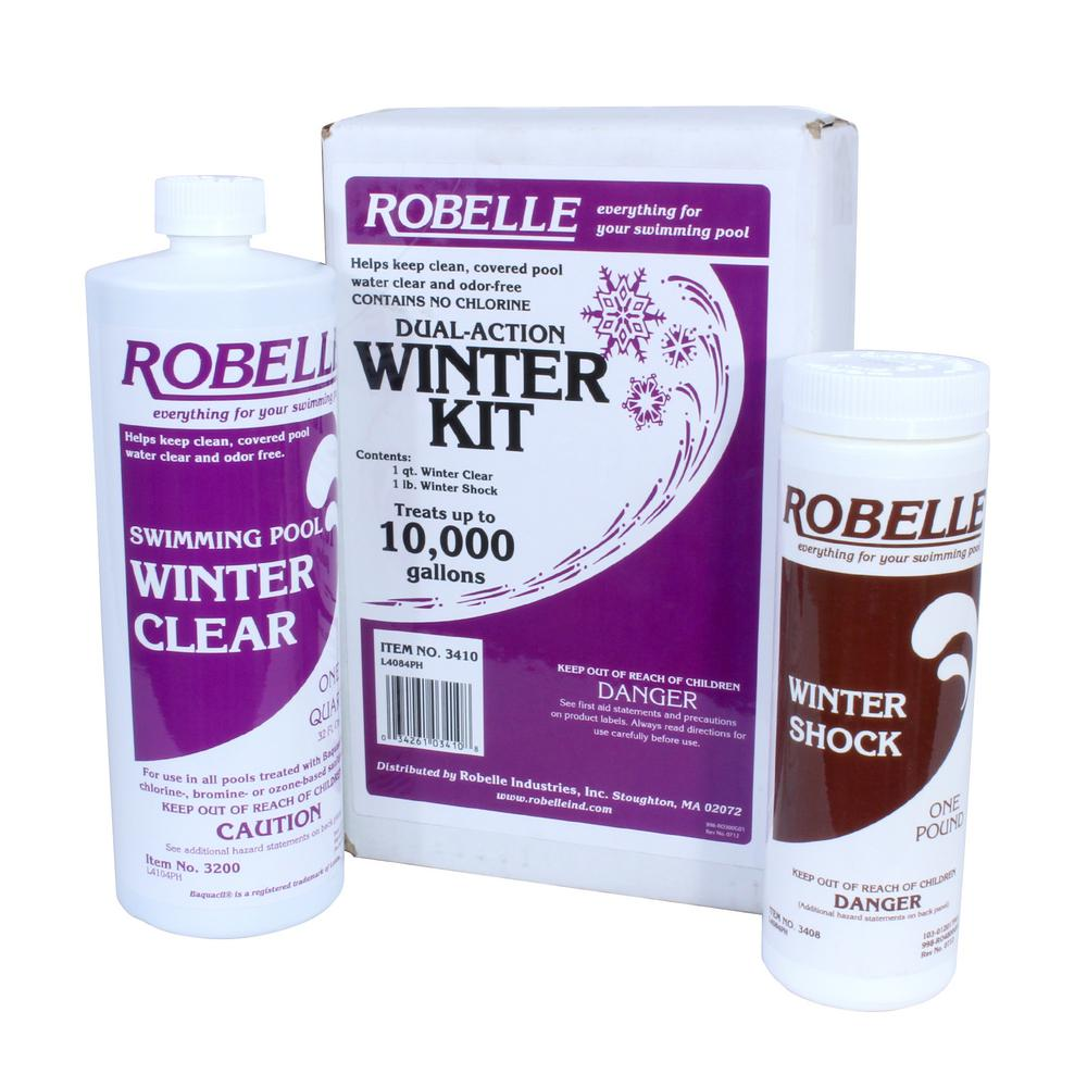 Robelle dual action 10 000 gallon swimming pool winter - How to close your swimming pool for winter ...