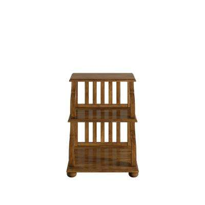 Kelsey Oak Tiered Accent Table