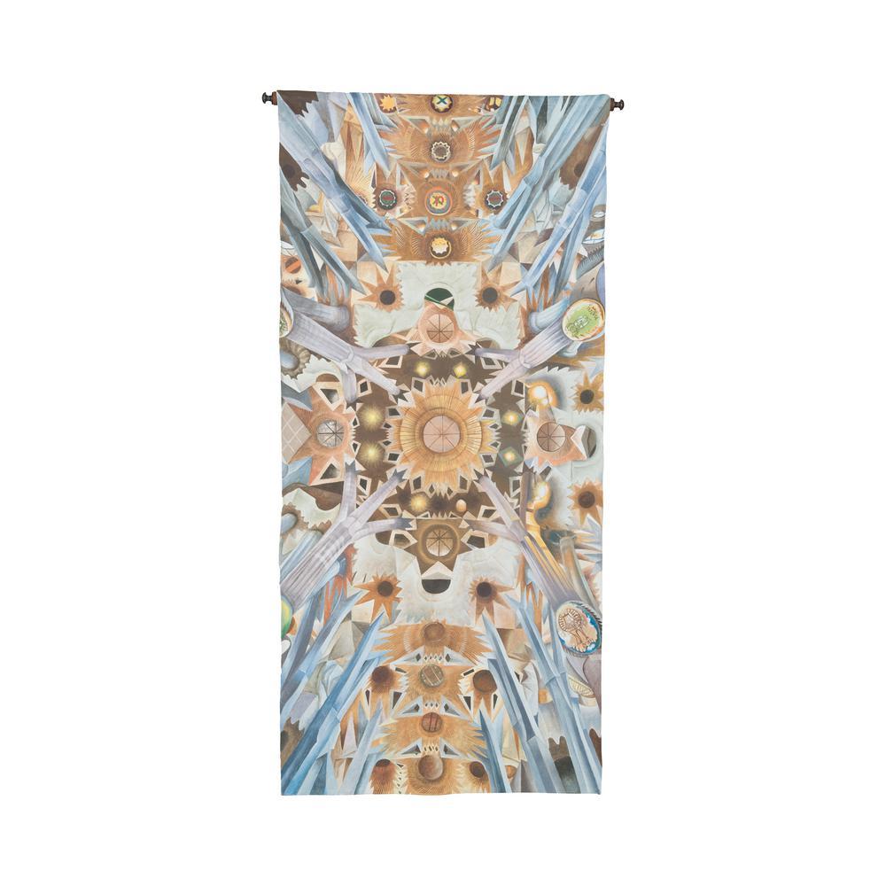 """Multicolor """"Sagrada Familia"""" Wall Tapestry"""