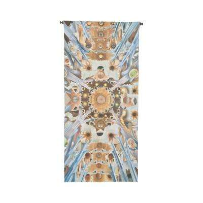 "Multicolor ""Sagrada Familia"" Wall Tapestry"