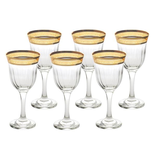 Red Wine Melania Collection Amber (Set of 6)