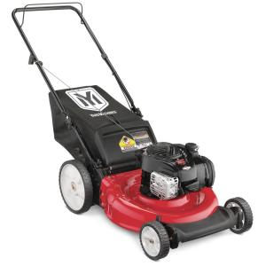 Yard Machines 21 in  140 cc OHV Briggs and Stratton Walk Behind Gas Push  Mower-11A-B1BE729 - The Home Depot