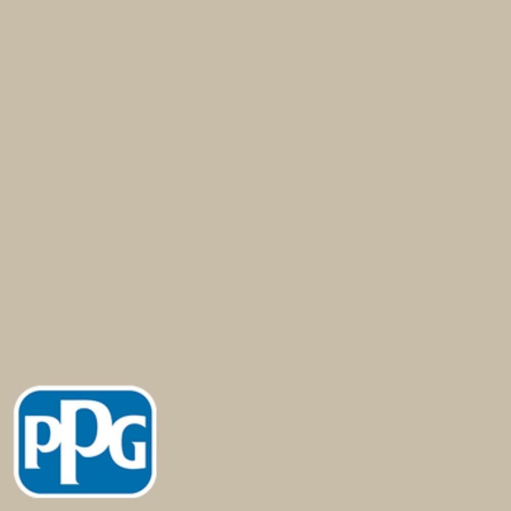 PPG TIMELESS 8 oz. #HDPPGWN58U River Birch Beige Eggshell Interior/Exterior Paint Sample