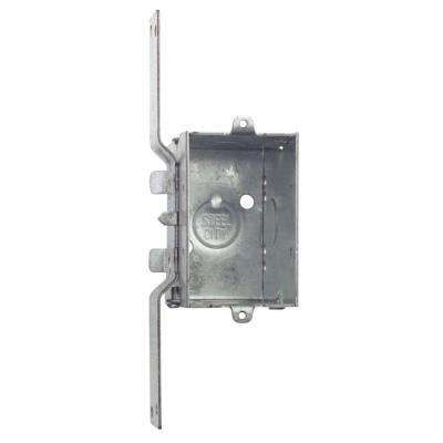1 Gang 14 cu. in. Pre-Galvanized Metal Gangable Old Work Switch Box (Case of 25)