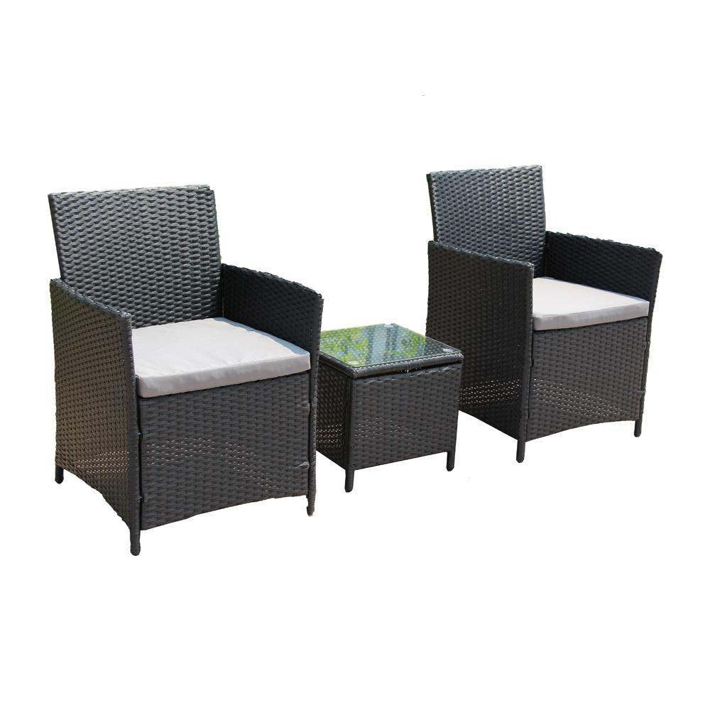 Aleko Piece Rattan Furniture Set Image