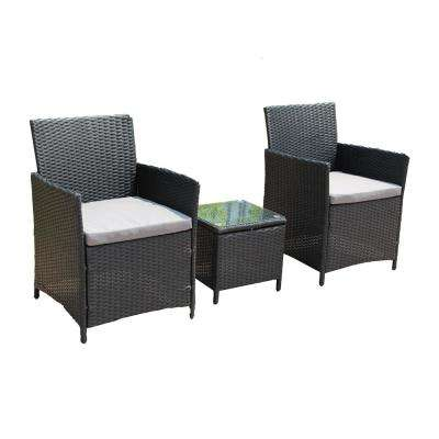 3-Piece Rattan Furniture Set