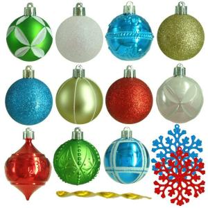 2.3 in. Alpine Holiday Shatter-Resistant Ornament (101-Count)