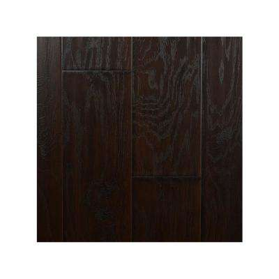 Take Home Sample - Hickory Midnight 12 mm Laminate Flooring 6.83 in. W x 8 in. L