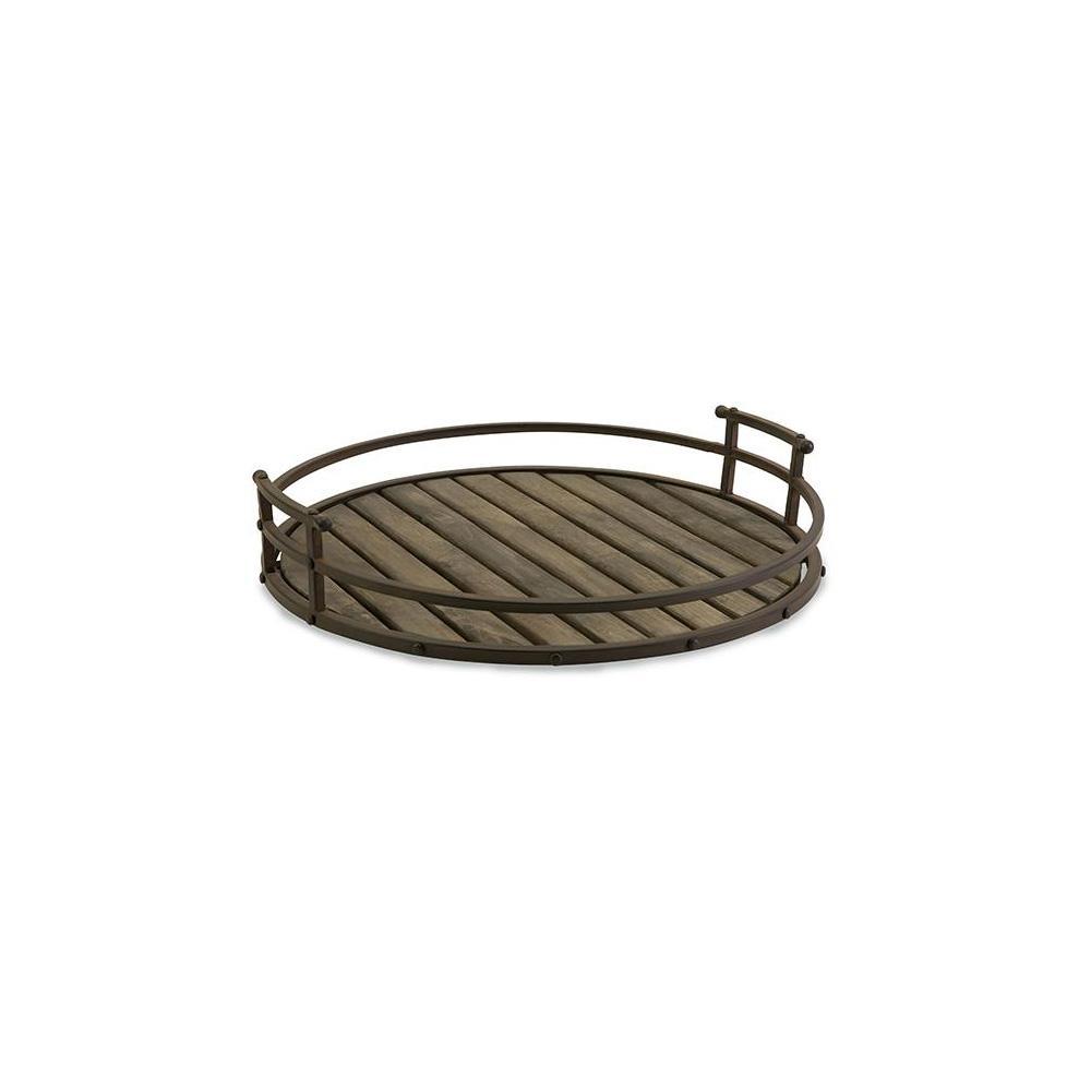 Waylon Dark Bronze Decorative Tray