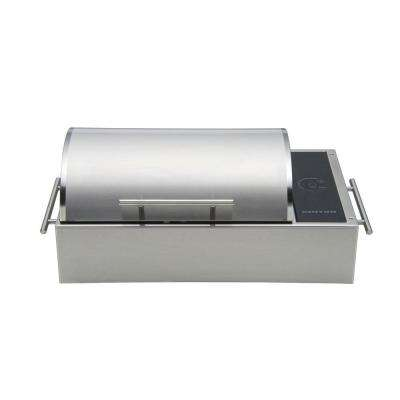 Floridian Portable Tabletop Electric Grill in Stainless Steel