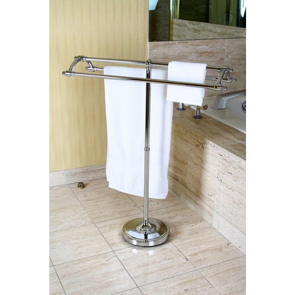 towel stand chrome bath towel towel rack chrome stand pedestal round plate solid steel floor standing holder 7417875643486 ebay