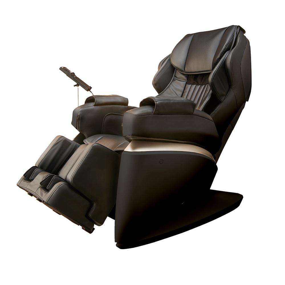 Synca Wellness Kurodo Black Commercial Grade Synthetic Leather Executive Level Commercial Massage Chair, Black/Modern was $8999.99 now $4499.99 (50.0% off)
