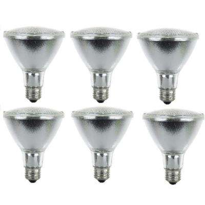39-Watt PAR30 Reflector Clear Halogen Light Bulbs (6-Pack)