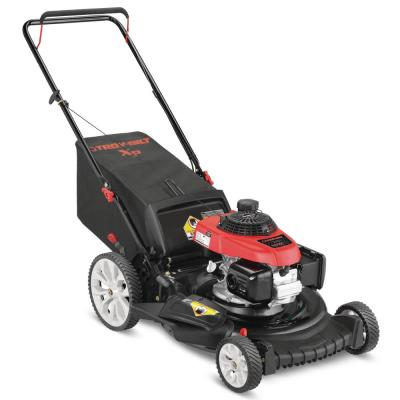XP 21 in. 160 cc Honda Gas Walk Behind Push Mower with High Rear Wheels and 3-in-1 Cutting TriAction Cutting System