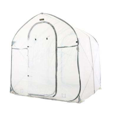 72 in. W x 72 in. D x 78 in. H Deep Pop-Up Greenhouse
