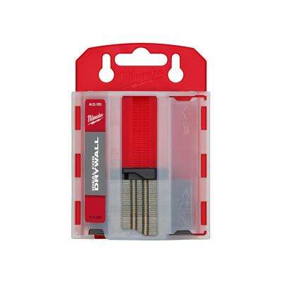 Drywall Utility Knife Blades with Dispenser (50-Piece)