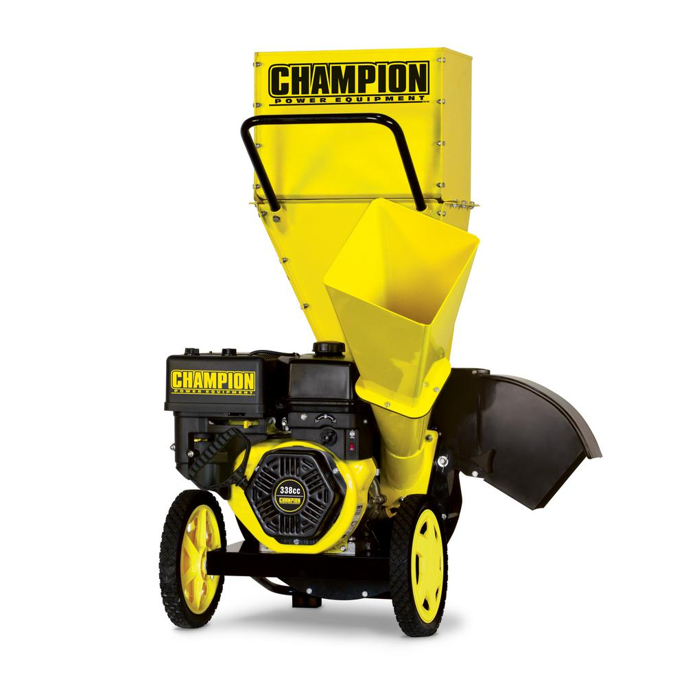 Champion Equipment 3 In 338cc Gas Ed Chipper Shredder