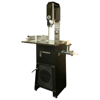 Electric Meat Cutting Band Saw and Grinder