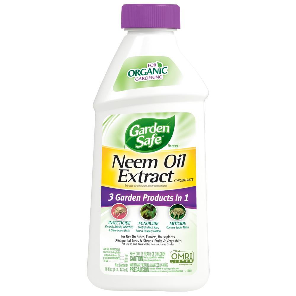 Garden Safe 16 oz  Neem Oil Extract Concentrate