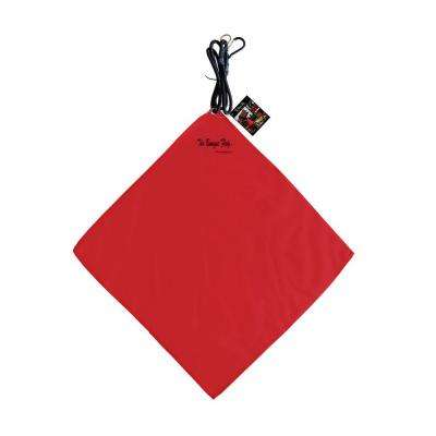 18 in. x 18 in. Safety Load Flag in Red