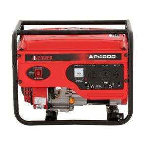 Click here to buy A-iPower 4,000-Watt Gasoline Powered Generator by A-iPower.