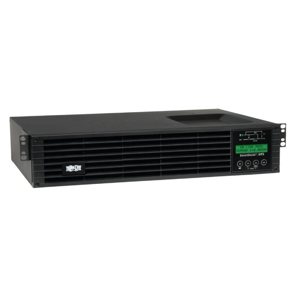 1kVA On-Line Double-Conversion UPS, 2U Rack/Tower, Interactive LCD display