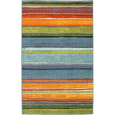Rainbow Multi 8 ft. x 10 ft. Area Rug