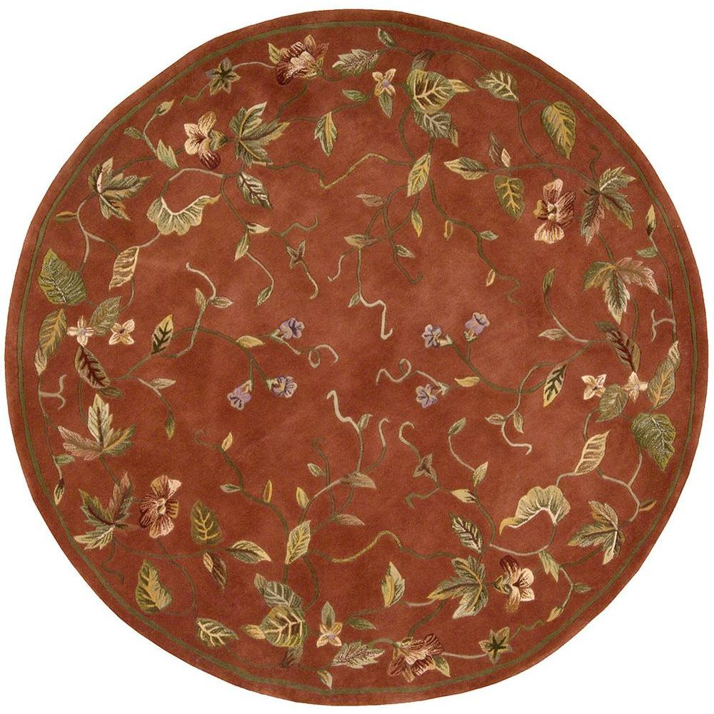 Nourison Julian Persimmon 8 ft. Round Area Rug