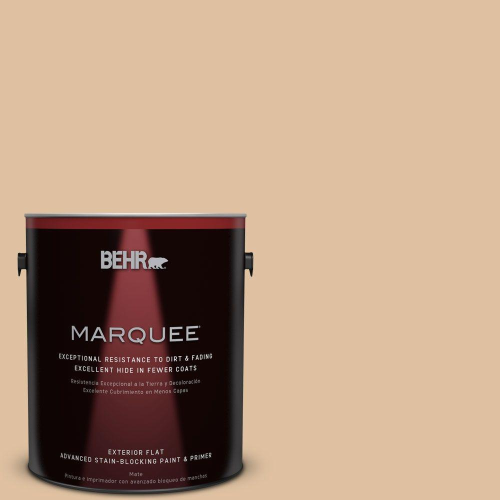 1-gal. #S290-3 Slender Reed Flat Exterior Paint