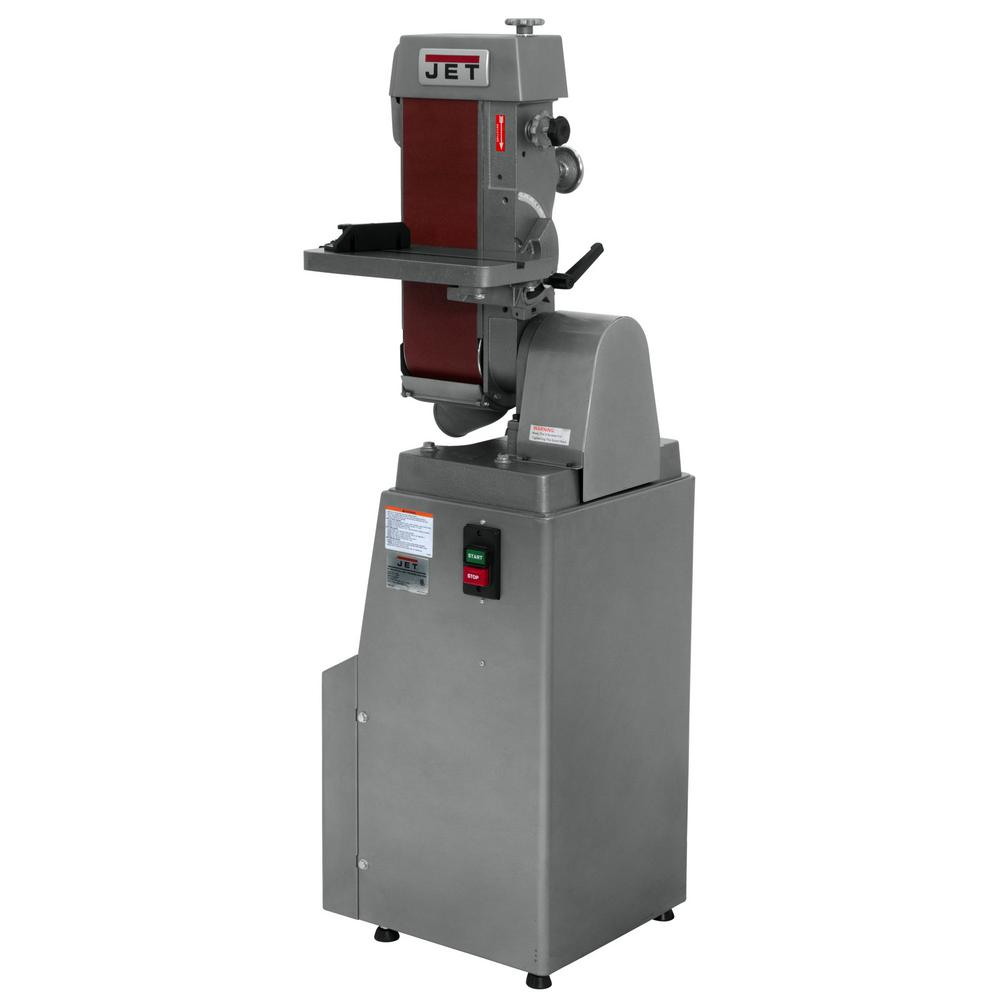 1.5 HP 6 in. x 48 in. Industrial Horizontal/Vertical Belt Finishing