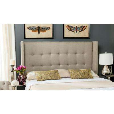 Damon Smoke Queen Headboard