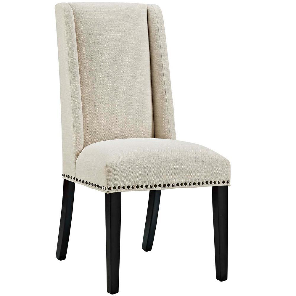 Modway Regent Beige Fabric Dining Chair Eei 2223 Bei The