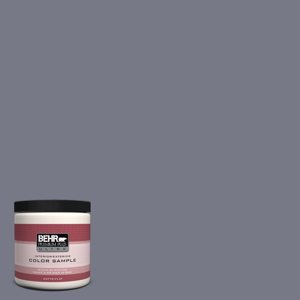BEHR Premium Plus Ultra 8 oz. #N540-5 Infamous Interior/Exterior Paint Sample