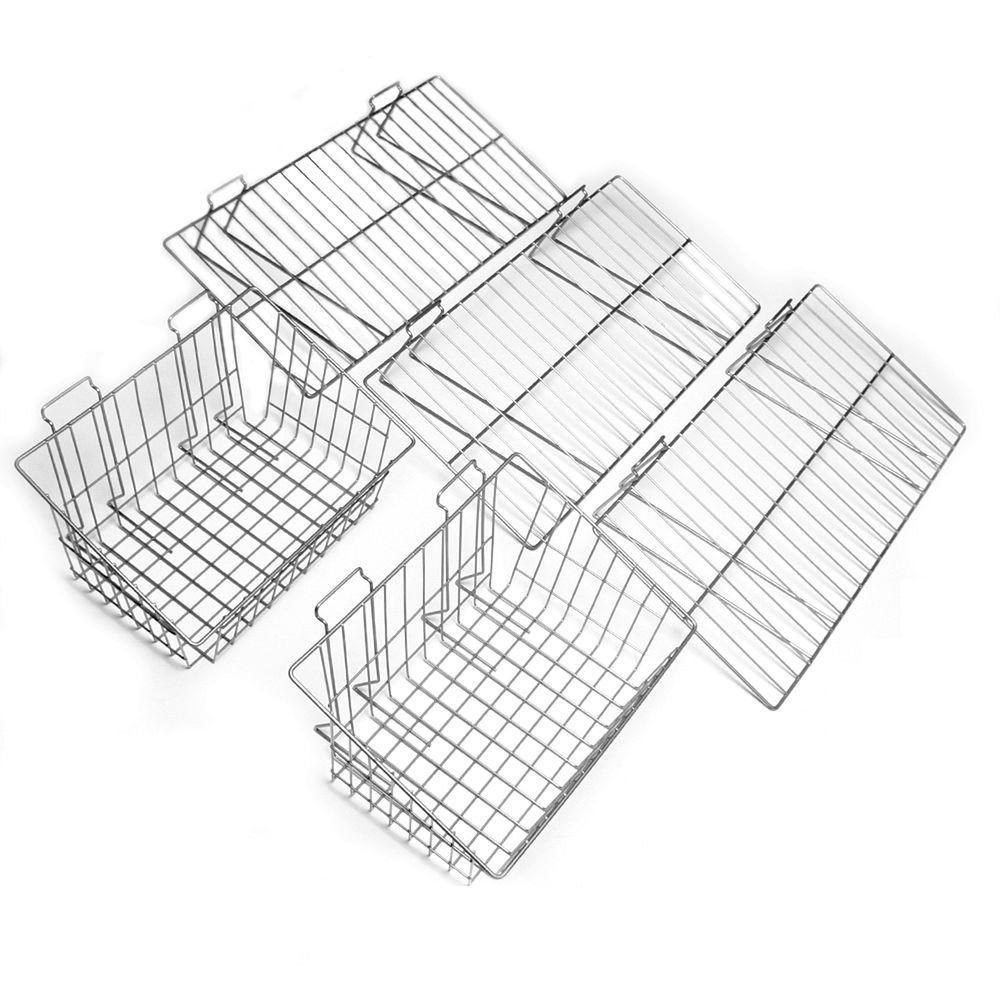 Proslat Shelf and Basket Combo Pack (5-Piece)