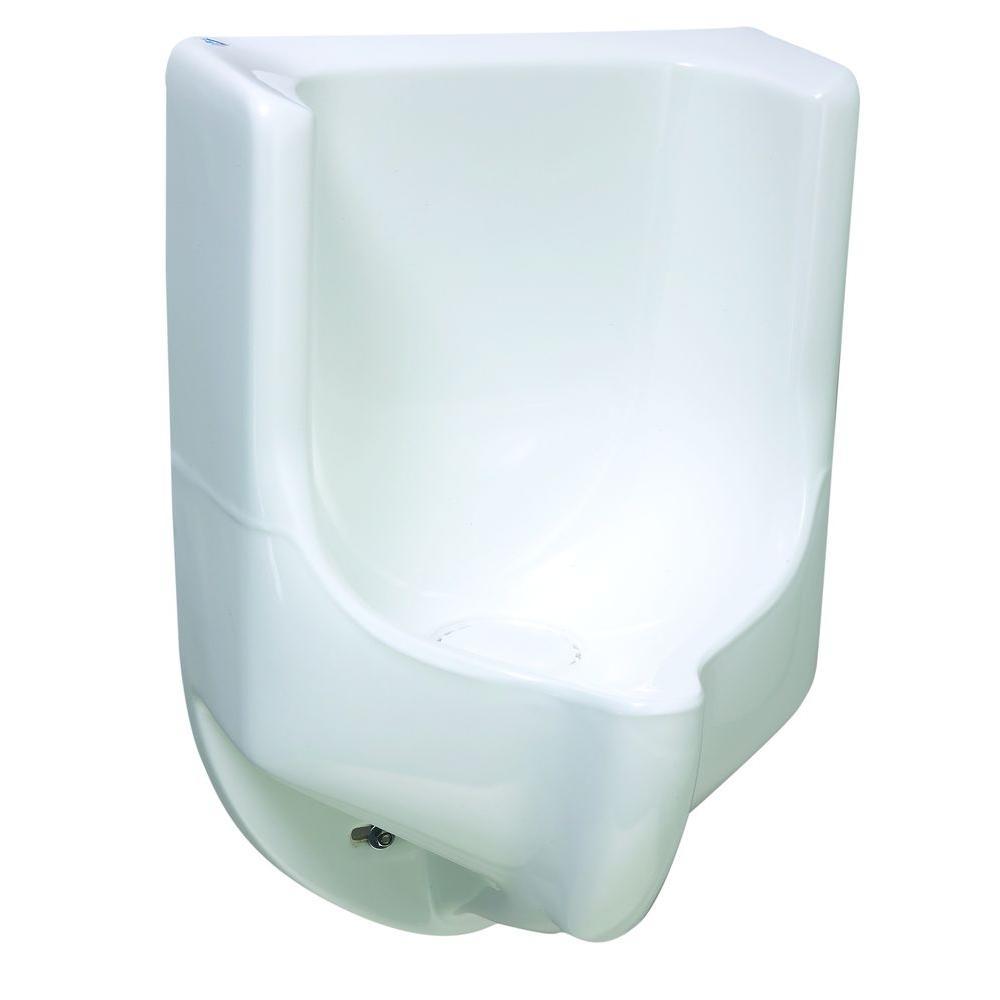 Waterless No Flush Urinal Sonora Composite In White Color