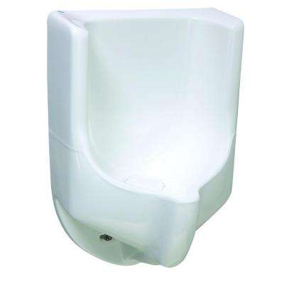 Sonora Composite Waterless Urinal No-Flush in White Color