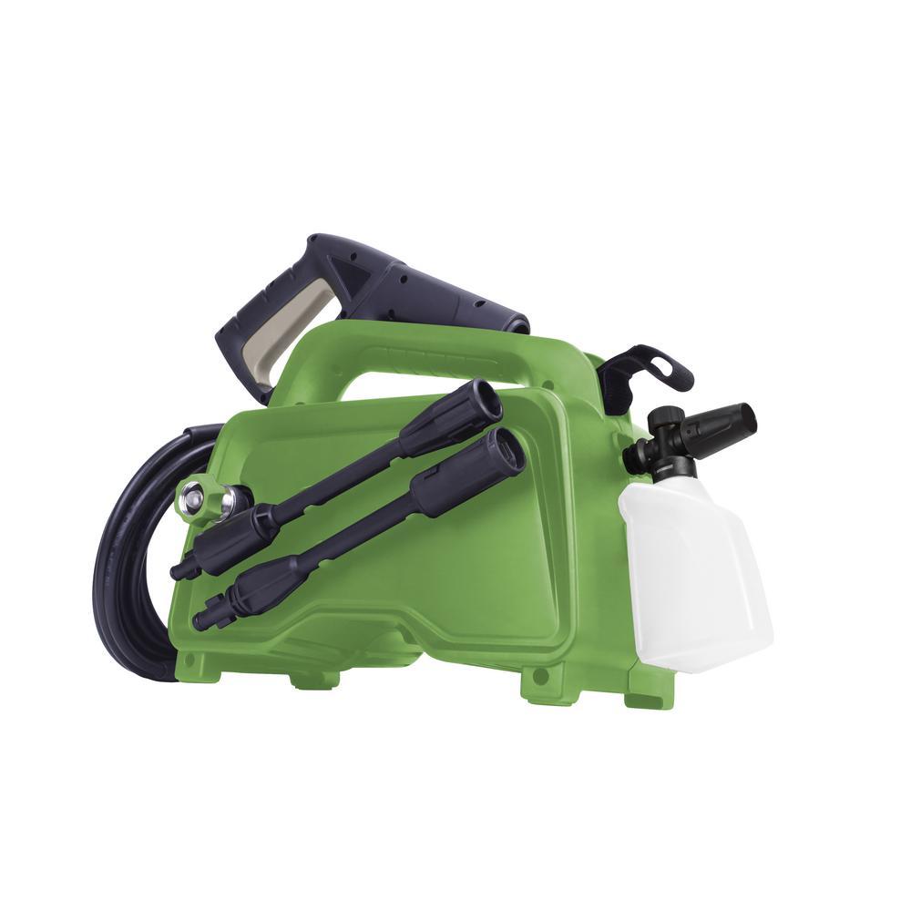 1450psi 11Amp 15u0022 Electric Hand Carry Portable Pressure Washer Green - Martha Stewart